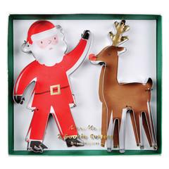 Santa's Reindeer Cookie Cutters