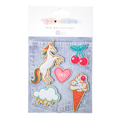 Unicorn Patch Party Favor