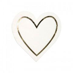 Pearl Heart Napkins