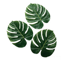 Polyester Palm Leaves, Large