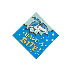 Shark Party,  Beverage Napkins