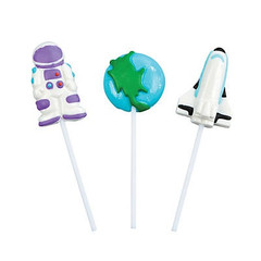 Outer space Lollipops