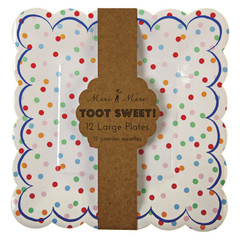 Toot Sweet Spotty Large Plates