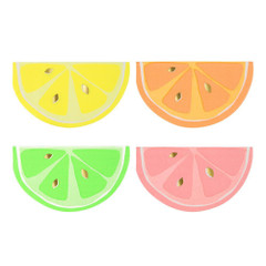 Neon Citrus Napkins, Small