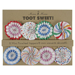 Toot Sweet Mini Pinwheels