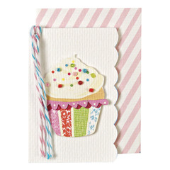 Beaded Cupcake Gift Enclosure