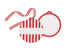 Candy Cane Styling Tag