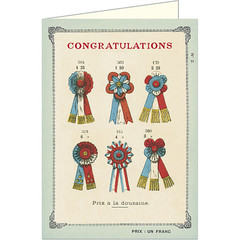 Congratulations Ribbons Card