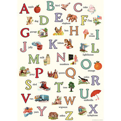English ABC's Wrapping Paper