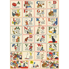ABC Francais Wrapping Paper