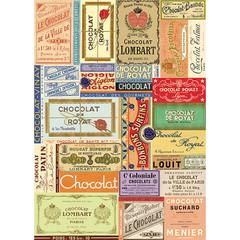 Chocolat Français Wrapping Paper