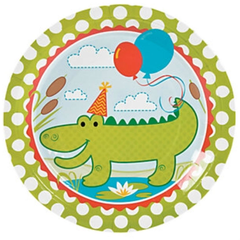 Little Alligator Dinner Plates