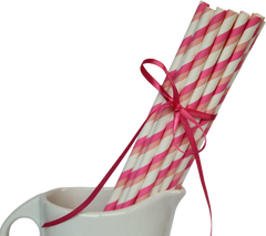 Paper Straws, Pretty in Pink
