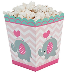 Pink Elephant Treat Box