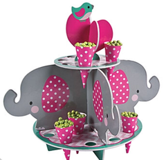 Pink Elephant Treat Stand