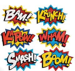 Super Hero Jumbo Signs
