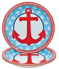 Little Sailor Dessert Plates