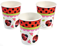 Ladybug Love Party Cups