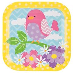 Little Birdie Dessert Plate