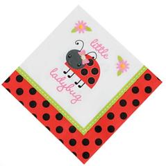 Ladybug Love Lunch Napkin