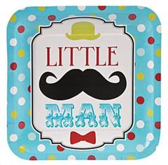 Little Man Dinner Plates