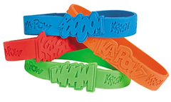 Super Hero Sayings Bracelets