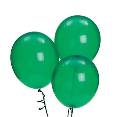 Green Latex Balloons