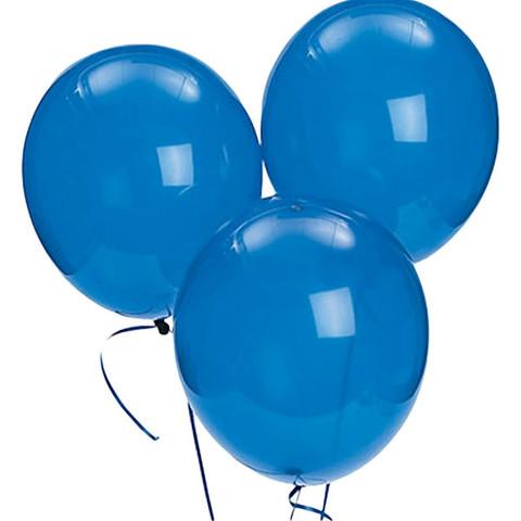 Blue Latex Balloons