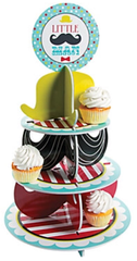 Little Man Cupcake Tower