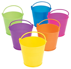 Colorful Mini Pails