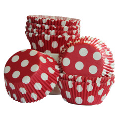 [SALE] Big Red Dot Cupcake Liners