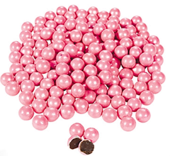 Chocolate Candies, Shimmer Pink