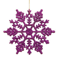 [SALE] Frozen Glitter Snowflake, Purple