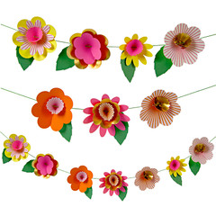 Fancy Flowers Garland Kit