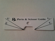 Disk Perio and Scissor Guide Face Plate Only