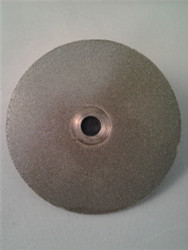 "400 grit 51mm (2"") Diamond Disk (""R"" Shaft)"
