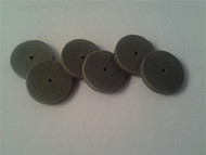 "22.2mm (7/8"") x 1/8"" black RSC disk 6 pack."