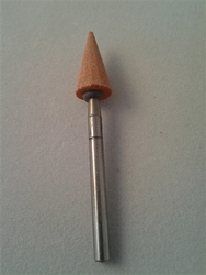 "Red Vitrified 9.5mm (3/8"") 30 deg. Cone"
