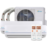48000 BTU Dual Zone Mini Split Air Conditioner - SENA/48HF/D