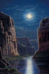 Moonlit Pass by R. W. Hedge