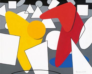 Caribbean Modern Art Perspective   Offer by Lynne Bernbaum