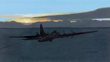Straggler (B-17) by K. Price Randel