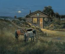 Western Fine Art Canvas Prints | Waylon's Place by George Kovach