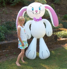 "72"" Inflatable Bunny Rabbit - Easter"