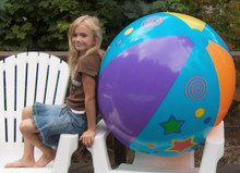 "48"" `Star Design` Beach Ball"