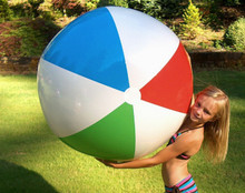 "48"" 4 Color `Classic Style` Beach Ball - NEW COLORS!"