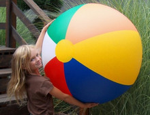 "46"" 6 Color Wasserball, Ballon De Plage, Beach Ball"