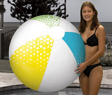 "46"" 4 Color SUMMER SPLASH Design Beach Ball"