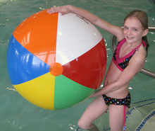 "42"" 6 Color WATER GEAR Beach Ball"