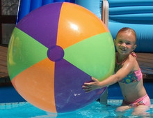 "42"" 3 Color Jumbo WATER FUN Beach Ball - Riesen Strandball"